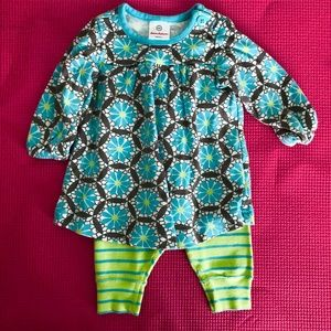 Hanna Andersson 2-piece set size 60 (3-6 months)